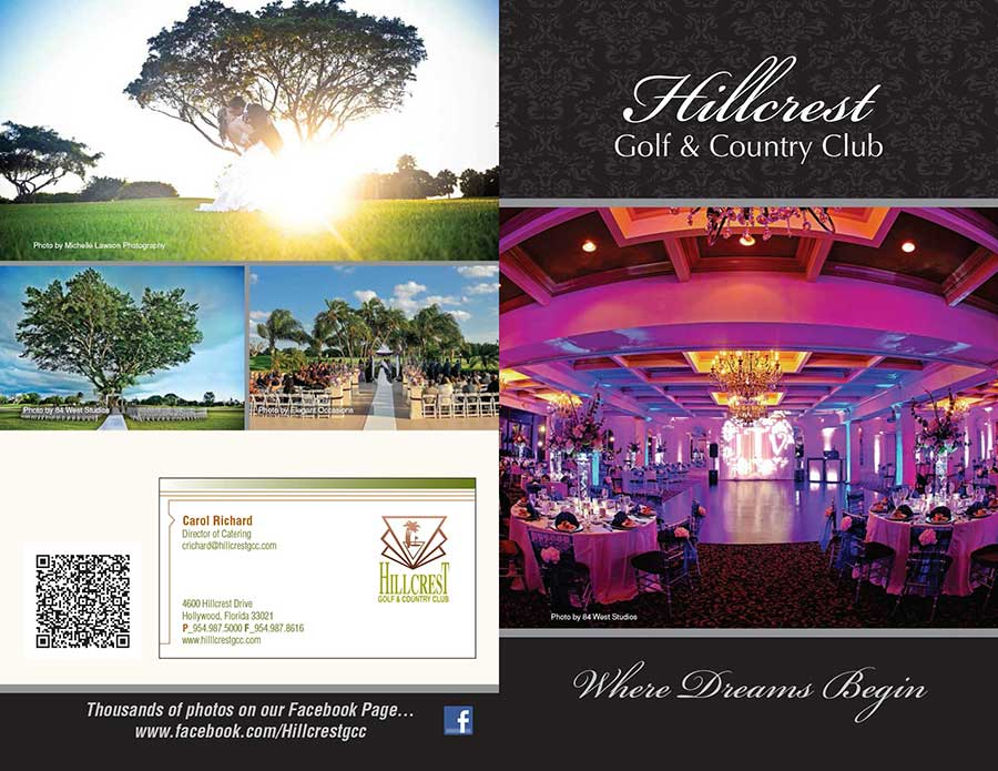 Hillcrest Country Club Brochure